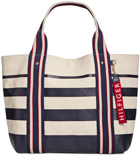 Tommy Hilfiger Striped Tote