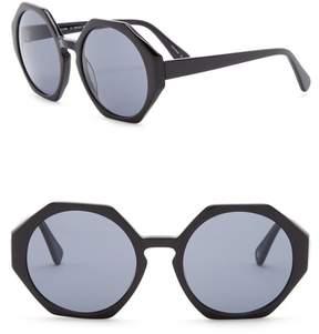 Joe's Jeans Women's Geo 56mm Sunglasses