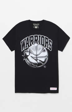 Mitchell & Ness Golden State Warriors Chrome T-Shirt