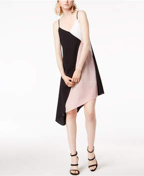 Bar III Colorblocked Slip Dress, Created for Macy's