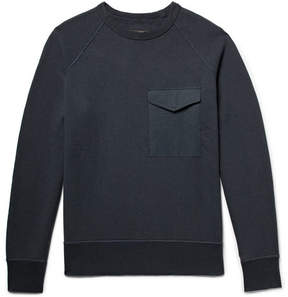 Rag & Bone Aviator Loopback Cotton-Jersey Sweatshirt