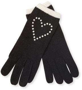Portolano Women's Heart Rib Gloves