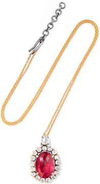 Amrapali 18-karat Gold, Ruby And Diamond Necklace