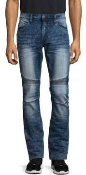 Buffalo David Bitton Max-X Super Skinny Fit Moto Jeans