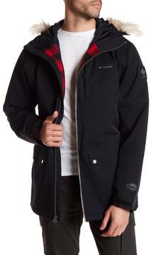 Columbia Catacomb Crest Faux Fur Trim Parka Jacket