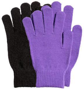 H&M 2-pack gloves - Purple