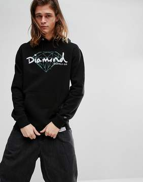 Diamond Supply Co. Hoodie With Script Logo