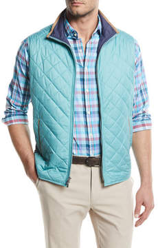 Peter Millar Tailgate Quilted Lightweight Vest