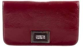 Kara Ross Patent Leather Clutch