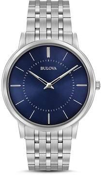Bulova Classic Slim Watch, 40mm