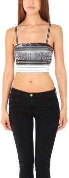 Clover Canyon Etched Marble Crop Top