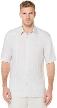 Cubavera 100% Linen Short Sleeve No Pocket Guayabera