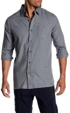 Joe Fresh Solid Flannel Standard Fit Shirt