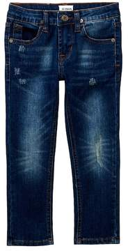 Hudson Slim Straight Five Pocket Jeans (Toddler & Little Boys)