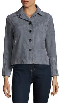 Ellen Tracy Suede Coat
