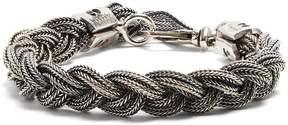 Emanuele Bicocchi Braided sterling-silver bracelet