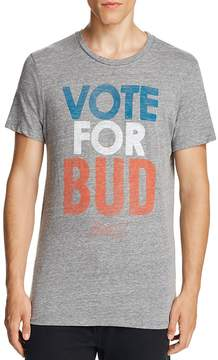 Junk Food Clothing Vote for Bud Graphic Tee