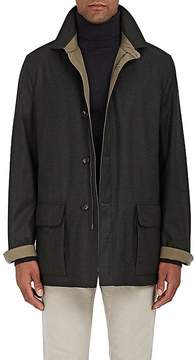 Luciano Barbera Men's Reversible Coat