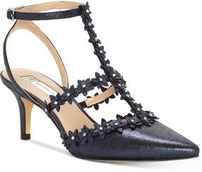 INC International Concepts I.n.c. Carma Evening Kitten Heel Pumps, Created For Macy's Women's Shoes