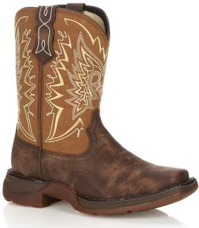 Durango Lil Let Love Fly Kids' Distressed 8-in. Western Boots