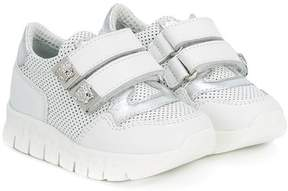 Versace touch-strap mesh sneakers