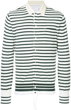 Sacai striped button shirt