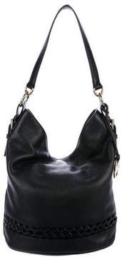 MICHAEL Michael Kors Grained Leather Bucket Bag