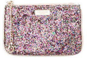 Kate Spade Metallic Sequin Pouch - METALLIC - STYLE