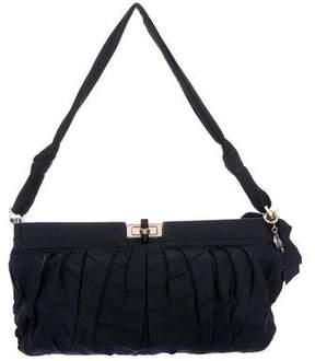 Lanvin Pleated Hinge Frame Shoulder Bag