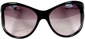 Jimmy Choo Black Plastic Sunglasses