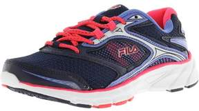 Fila Women's Stir Up Navy / Diva Pink Wedgewood Ankle-High Running Shoe - 7M