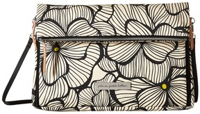petunia pickle bottom - Glazed Crossover Clutch Clutch Handbags