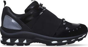 Givenchy Leather and suede hiking trainers