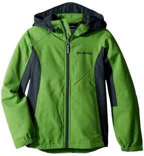 Columbia Kids SplashFlashtm II Hooded Softshell Jacket Boy's Coat