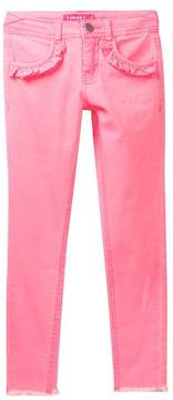 Love, Fire Colored Denim Jeans (Big Girls)