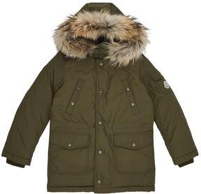 Moncler Yann Fur Hood Coat