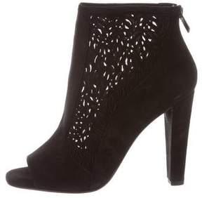 Diane von Furstenberg Angel Laser Cut Ankle Boots w/ Tags