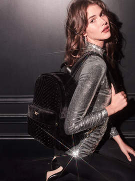 Victoria's Secret Victorias Secret Velvet Stud City Backpack