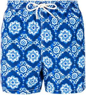 MC2 Saint Barth 70's print swim shorts