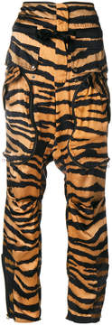 Faith Connexion tiger print trousers