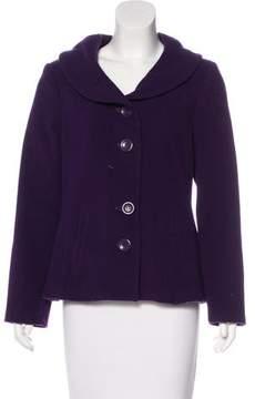 Cacharel Wool-Blend Short Coat
