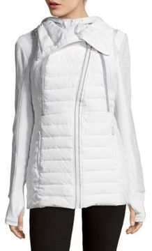 Blanc Noir Triple Threat Quilted Vest and Jacket Set