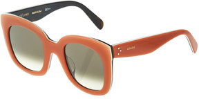 Celine Havana Square Acetate Sunglasses
