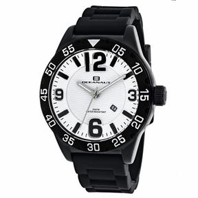 Oceanaut Aqua One OC2711 Men's Round Black Silicone Watch