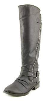 Rampage Womens Iverlee Almond Toe Knee High Riding Boots.