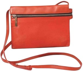 Victoria Beckham Orange Leather Handbag