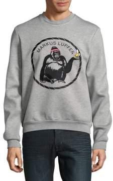 Markus Lupfer Gorilla Graphic Sweatshirt