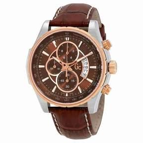 GUESS Techno Class Chronograph Brown Dial Men's Watch X81002G4S