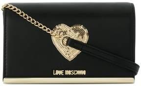 Love Moschino heart-embellished crossbody