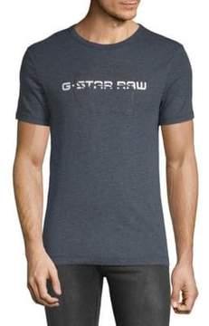 G Star Logo Heathered Tee